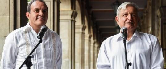 Respalda AMLO a gobierno de Cuauhtémoc Blanco