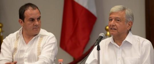 Promete AMLO trabajo conjunto con Gobierno de Morelos