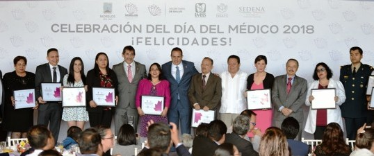 Reitera Cuauhtémoc Blanco compromiso de mejorar el sector salud