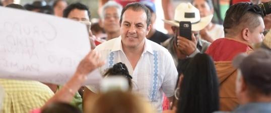 Será Morelos tierra de paz y oportunidades: Cuauhtémoc Blanco