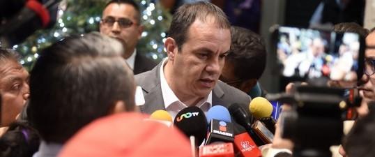 Prevalece en Morelos respeto entre poderes del estado: Cuauhtémoc Blanco