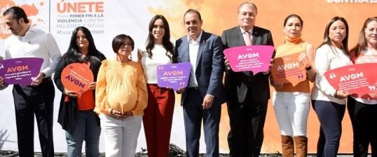 Convoca Cuauhtémoc Blanco a erradicar la violencia contra las mujeres