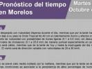 Continuarán las lluvias en Morelos
