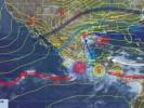 Incrementa potencial de lluvias durante las noches del fin de semana
