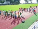 Alumnos se apropian de espacios públicos deportivos
