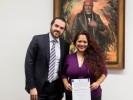 Recibe Danae De Negri encomienda de proteger a las niñas, niños y adolescentes