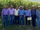Visita Ceagua obra hidroagrícola en la zona centro-oriente
