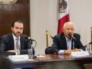 Revisa Pablo Ojeda programa nacional de reconstrucción con delegados federales