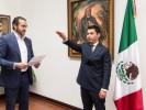 Asume Mauricio Robles la Coordinación de Asesores de la Secretaría de Gobierno