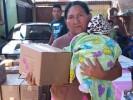 Entrega DIF Morelos apoyos en zonas de alta marginación