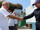 Supervisa Ortiz Guarneros Comandancias de Seguridad Pública