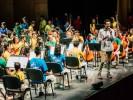 Se presenta Orquesta, Banda y Coro de niños morelenses en Centro Cultural Teopanzolco
