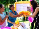 Encabeza Natália Rezende reunión demostrativa de proyectos productivos