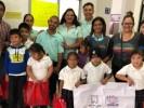 Continúa entrega de kits escolares a niñas y niños de escuelas dañadas por sismo 19s